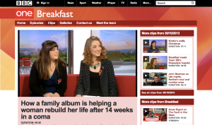 BBC Breakfast, October 2013