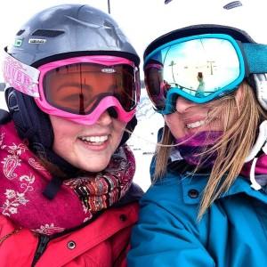 ruthie skiing