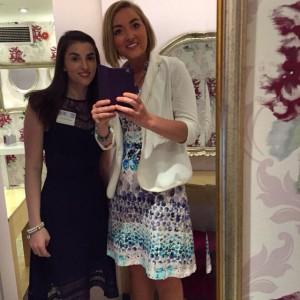 Sarah and Liz toilet