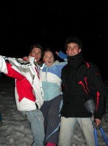liz skiing